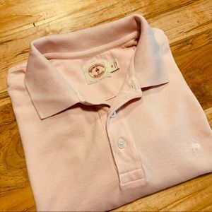 Brooks Brothers Red Fleece Pink Polo